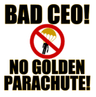 no golden parachute tshirt