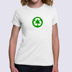 Womens Organic Fitted T-Shirt