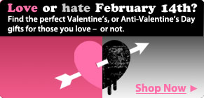 Valentine or anti-Valentine?